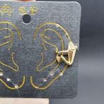 Piercing Fake Dourado Sapinho