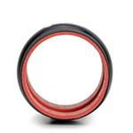Mangote Em Silicone Reto Com Hump 3,0 Polegadas X 80mm
