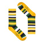MEIA SOCKS ON THE BEAT STRISCE BRASIL