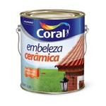 Esmalte Brilhante Cerâmica 3,6 litros EMBELEZE CORAL