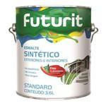 Esmalte Sintético Fosco Preto 3,6L - Futurit