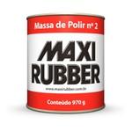 Massa de Polir N2 900ml - Maxi Rubber
