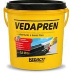 Impermeabilizante p/Laje Preto Vedapren 3,6 Litros - Otto Baumgart
