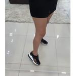 Tenis Feminino Camminare Preto Com Onça Conforto