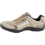 Sapato casual masculino CRshoes bege