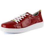 Tênis Feminino CR Shoes - Verniz Vermelho