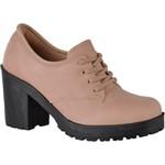 Oxford feminino tratorado CRshoes rosa