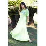 Vestido Manu Verde Lima - Tamanho Único
