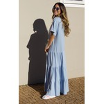 Vestido Manu Azul - Tamanho Único
