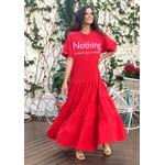 Vestido Manu Vermelho - Tamanho Único
