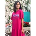 Vestido Manu Pink - Tamanho Único