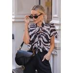 Blusa Estampa Zebra Detalhe Laços
