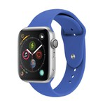 Pulseira Apple Watch Silicone lisa 42,44mm serie 1a 5
