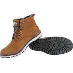 Bota Adventure Casual Couro Nobuck Bell Boots - 835 - Osso