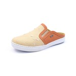 Sapato Mule Babuche Masculino Destroyed Jeans Paris Gshoes - 165-6 - Whisky