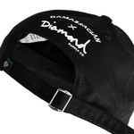 DAD HAT DIAMOND X DAMASSACLAN BLACK