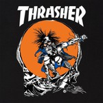 CAMISETA THRASHER OUTLAW BLACK
