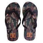 DC Shoes Sandals Spray Graffik Camo Orange