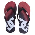 DC Shoes Sandals Spray Graffik Black Red Print