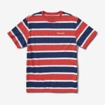 Camiseta Diamond Mini OG Script Striped Red