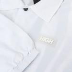 Coach Jacket High Fine Safari White