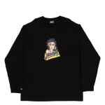Longsleeve High Space Chica Black