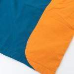 Shorts High Track Orange/Night Green Refletivo