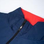 Zipped Jacket High Stripes Navy