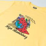 Camiseta High Tee Bambinoz Soft Yellow