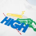 Camiseta High Tee Suspect White
