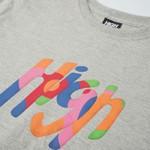 Camiseta High Tee Wonder Grey