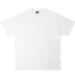 Camiseta High Work Tee Outline Logo White