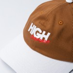 Polo Hat High Compagnia Brown White