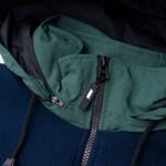 Quarter Zip Fleece High Navy Green