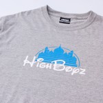 Camiseta High Tee Entertainment Heather Grey