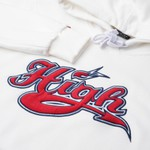Hoodie High Athletic White