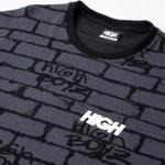 Camiseta High Jacquard Tee Bricks Black