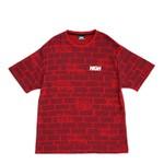 Camiseta High Jacquard Tee Bricks Red