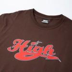 Camiseta High Tee Athletic Brown