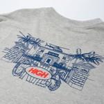 Camiseta High Tee Cribs Heather Grey