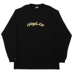 Longsleeve High Jungle Black