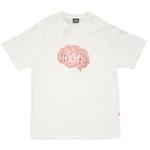Camiseta High Tee Brain White
