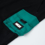 Color Block High Cargo Black/Night Green