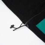 Color Block High Vest Black/Night Green