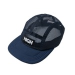 Mesh 5 Panel High Black/Blue