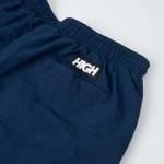 Shorts High Diagonal Navy