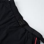 Strapped Shorts High Logo Black