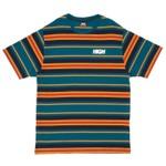 Camiseta High Tee Kidz Navy/Burgundy
