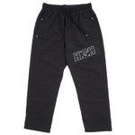Track Pants High Diagonal Black