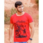 Blusa T-shirt Indian Red